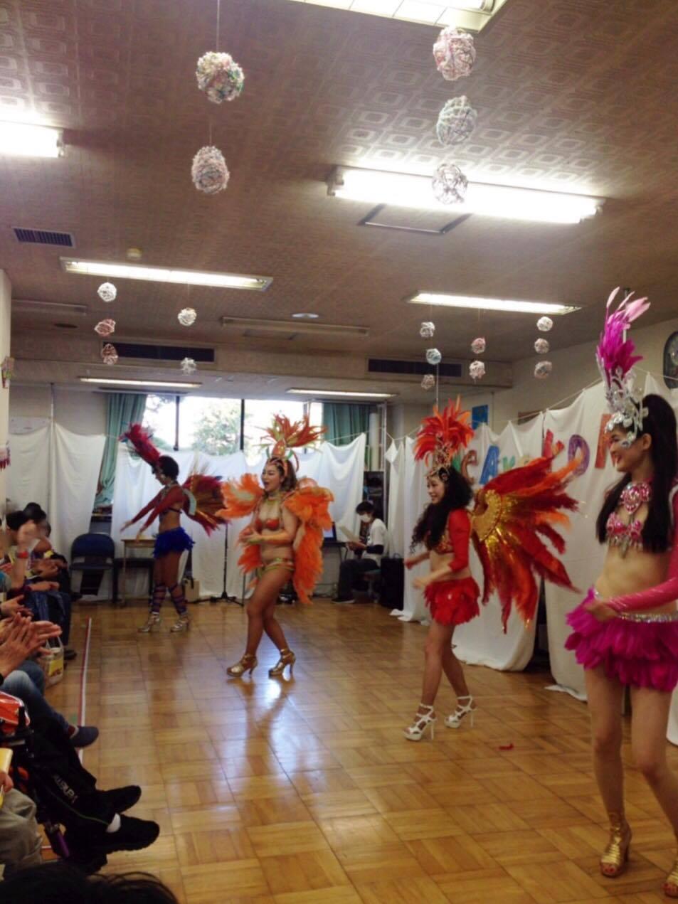板橋区立小茂根福祉園内のお祭りに出演しました!